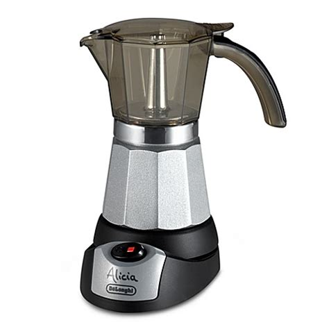 espresso maker electric buy de longhi emk6 electric moka espresso maker