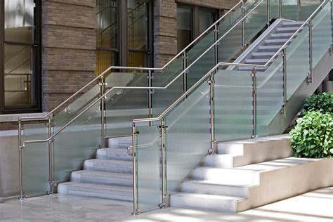 Steel Handrail Systems Silhouette Railing Systems Allied Metal