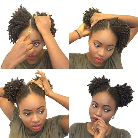 easy hairstyles for short nappy hair 15 stunning natural hair pictorials for the summer pig