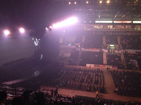 sheffield motor arena view from motorpoint arena sheffield block 202 row q seat 15
