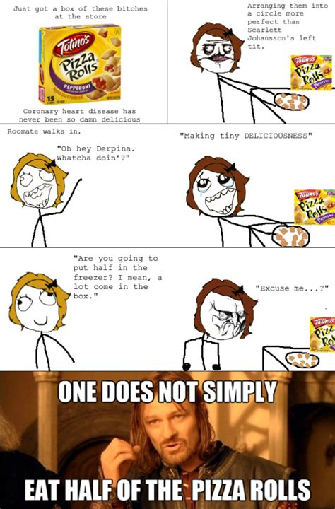 Pizza Rolls Meme - pizza rolls rage totino s pizza rolls know your meme