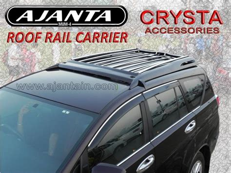 All New Innova Roof Rail Activo Color By Request ajanta enterprise roof rail carrier innova crysta roufrail carrier add roof rail carrier to