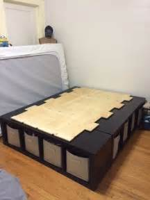 bed storage ideas best 20 ikea storage cubes ideas on