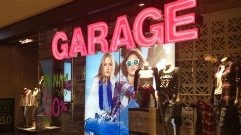 Garage Clothing Website by Fashion Retailer Garage To Open Store