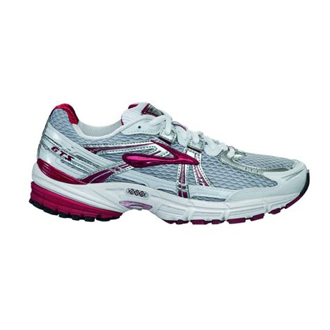 adrenaline gts  road running shoes whitered womens