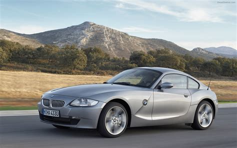 Bmw Coupe Z4 by Bmw Z4 Coupe 2006 Widescreen Car Wallpaper 009