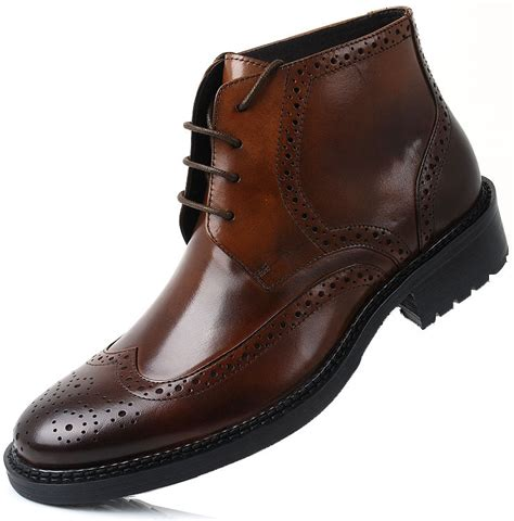 comfortable mens dress boots new arrival recommended slangwell ultra chic leather lace