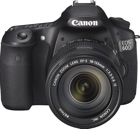 Canon Eos 60d Lensa 18 135mm Canon Eos 60d Dslr With 18 135mm Is Lens Black 4460b004 Best Buy
