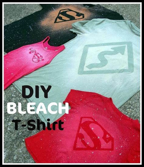 bleach pattern on t shirt diy bleach t shirt tutorial six sisters stuff