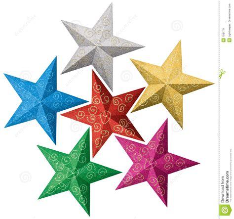 imagenes navidad estrellas estrellas coloridas de la navidad ilustraci 243 n del vector