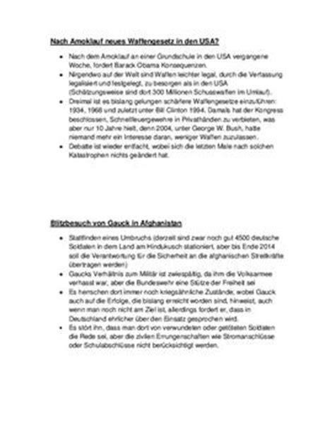 Praktikum Referat Muster au 223 enpolitik wochenbericht aus dem fach sozialkunde