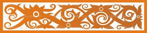 wallpaper batik kaltim motif dayak motifdayak