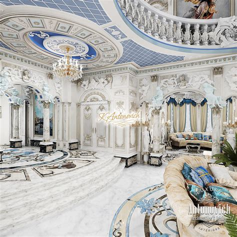 Apartment Layout Design interior luxurious palace in dubai