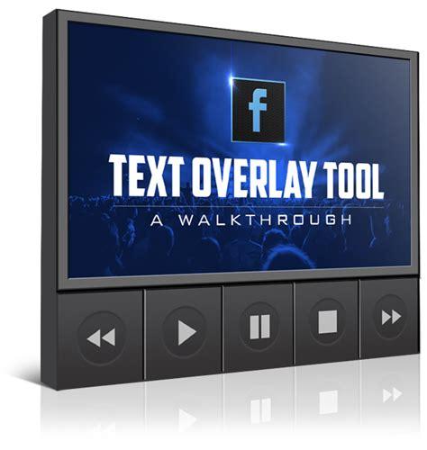 fb text overlay fb advertising pro