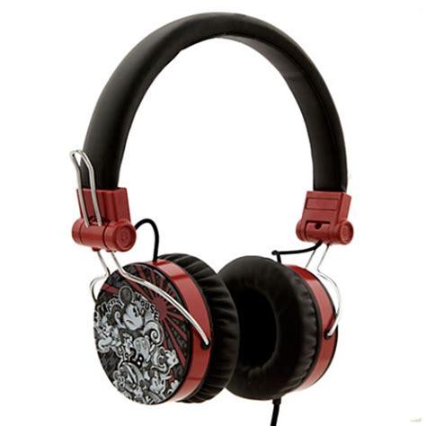 Headphone Kabel Disney Headphone Karakter disney headphones houndstooth mickey mouse