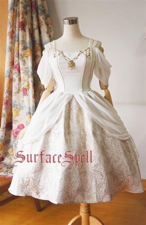 gorgeous white gothic lolita op dress  colors