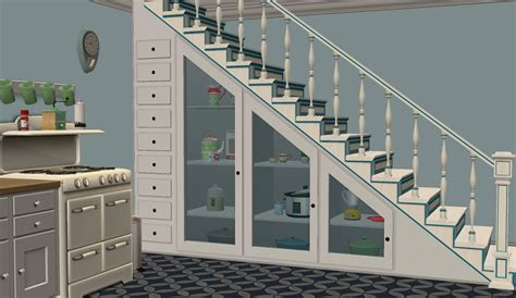 Locker Room Floor Plans mod the sims under the stairs storage set