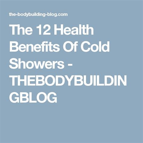 Health Benefits Of Cold Showers by Best 25 Cold Shower Ideas On Useful