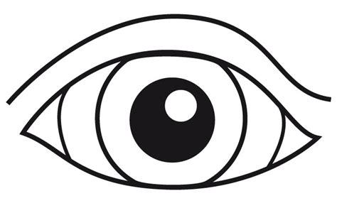 imagenes ojos para colorear ojo para colorear e imprimir imagui