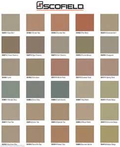 scofield color chart lm scofield integral color sg concrete mix top premium