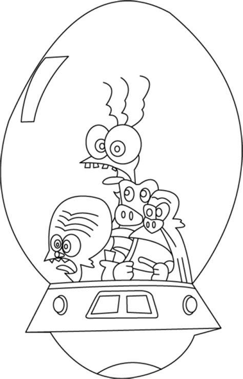 59 dessins de coloriage Les zinzins de l'espace à imprimer