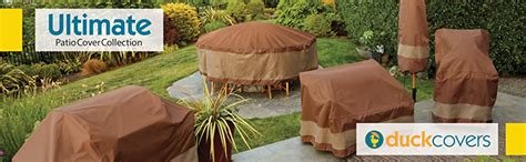 amazoncom duck covers ultimate patio chair cover
