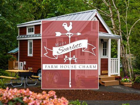 scarlett tiny house at mt hood tiny house village tiny houses at mt hood village oregon
