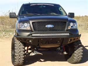 Ford Front Bumper 2004 2008 F150 Add Stealth Front Road Bumper W Winch