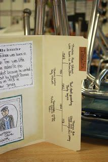 File Folder Biography Book Report by 1000 Images About Inventions Thematic Unit On Inventors Inventions And Watts Up
