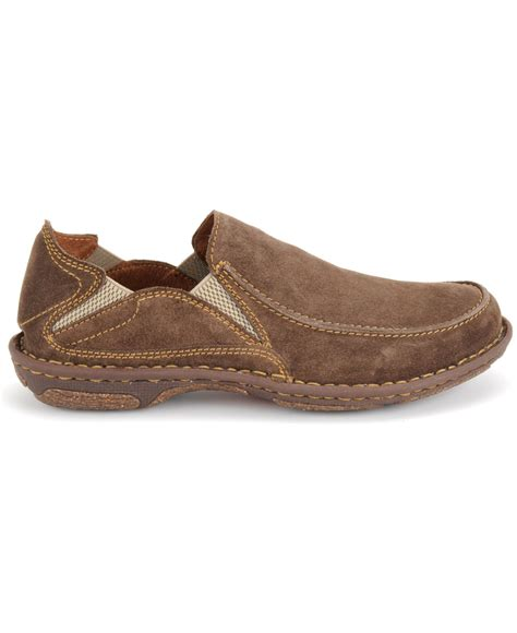 born carsten slip on shoes in brown for lyst