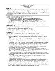nursing resume plain