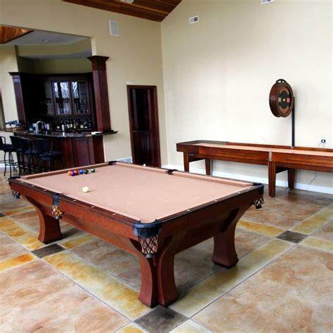 Custom Shuffleboard Table by Custom Made Shuffleboard Tables Installed In Chicago