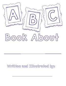 free alphabet book template by sunnydays teachers pay