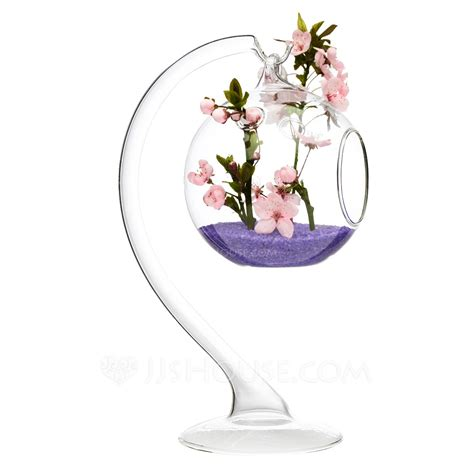 Glass Hanging Vases by Fancy Hanging Glass Vases Flowers Not Include 123067809