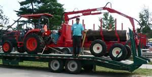 Tractor enterprises compact logging tractors and logging equipment