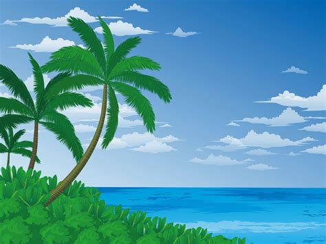wallpaper cartoon beach beach cartoon background download hd wallpapers