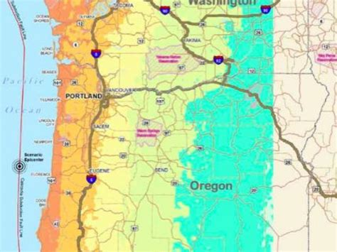 earthquake oregon cascadia earthquake report says we re not ready for what