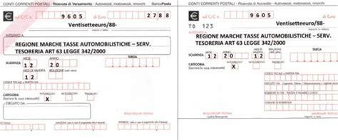 regione cania ufficio tasse automobilistiche bollettino postale bollo auto compilabile per il pagamento