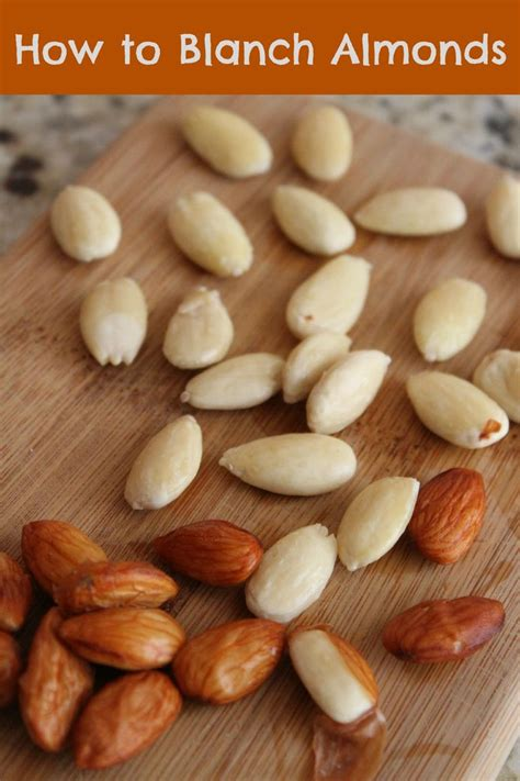how to blanch almonds recipe dishmaps