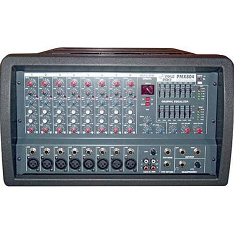 Power Mixer Q8p 8channel pyle pmx804 400w 8 channel professional powered pa mixer lifier