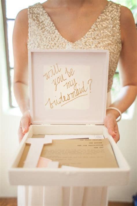 bridesmaids invitation boxes best 25 bridesmaid invitation box ideas on bridesmaid box bridesmaid box