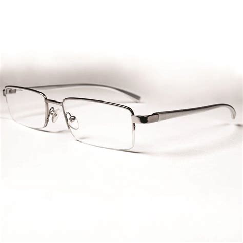 magnifeye reading glasses modern silver 2 5 magnification