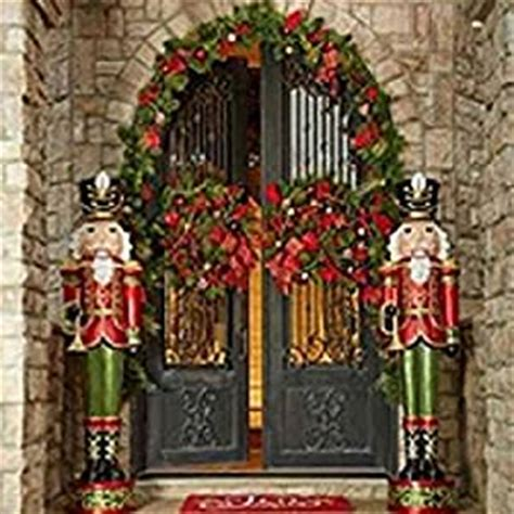 outdoor nutcrackers for sale at lowes size pair of 6 resin nutcracker soldiers home