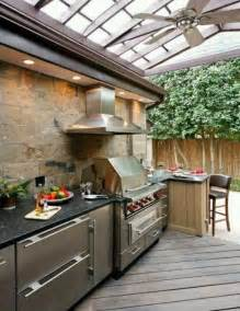 Backyard Kitchen Ideas by 56 Cool Outdoor Kitchen Designs Digsdigs