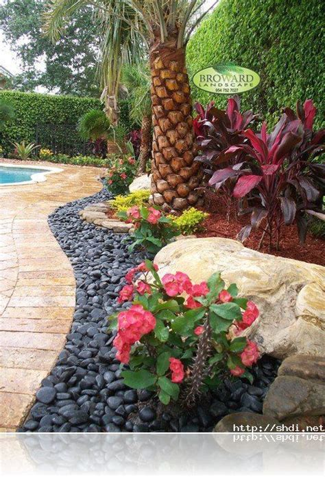 21 Best Images About Tropical Landscaping On Pinterest 1951 Rock Garden