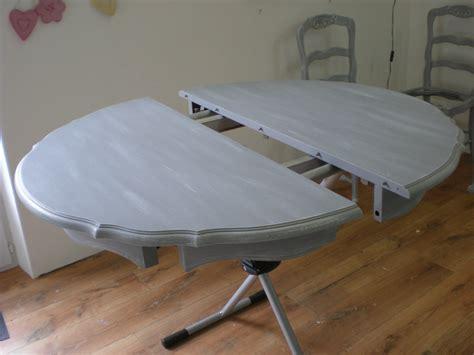chaise cassée salle a manger blanc vieilli