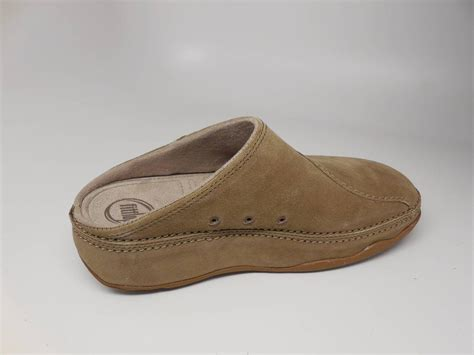 clogs and mules for fitflop gogh suede suede mules clogs shoes new ebay
