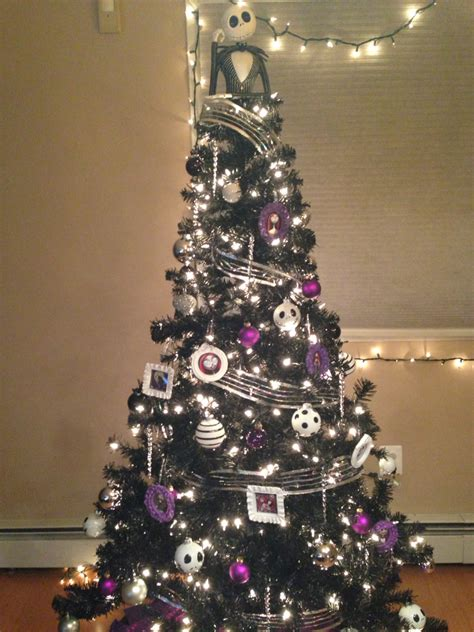 nightmare before christmas tree holidays pinterest