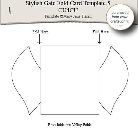 Accordion Gate Fold Card Template by Stylish Gate Fold Card Template 5 Cup289342 99