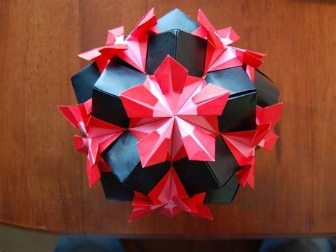 Origami Kusudama - origami kusudama make